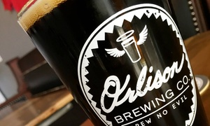 UP to 50% Off at Orlison Brewing Co. Tavern at Orlison Brewing Co. Tavern, plus 6.0% Cash Back from Ebates.