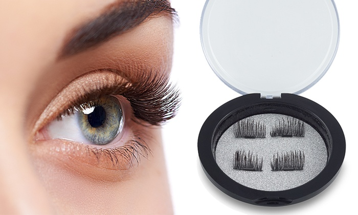 Up to Four Pairs of Reusable Intense Volume Magnetic Eyelashes for £2.99