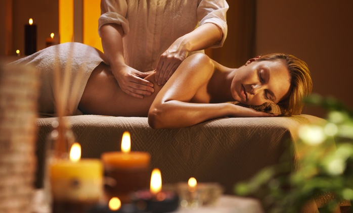 $59 for a 90-Min Massage, Facial and Eyebrow Shape Pamper at Tranquility Beauty and Hair Salon (Up to $170 Value)