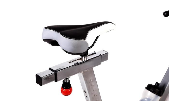 Indoor Cycling Bike in Studioqualit/ät SP-SRP-3000 Ergometer bis 500 Watt Benutzergewicht bis 150 kg Triathlonlenker /& Rennsattel SportPlus Speedracer 50 Widerstandsstufen T/ÜV-gepr/üft