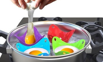 Easy Egg Poaching Moulds Set