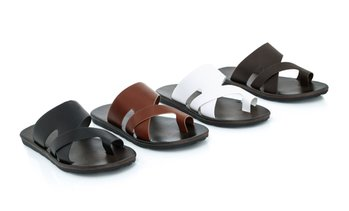 Franco Vanucci Men's Slip-On Sandals