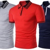 Men's Slim Fit Tipped Polo Shirt