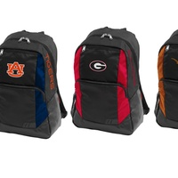 Logo Brands NCAA Closer Backpack with 13-inch Laptop Sleeve