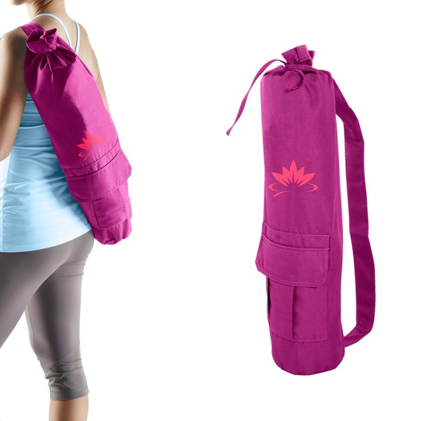 Up To 39 Off On Lotus Yoga Orchid Yoga Mat Bag Groupon Goods