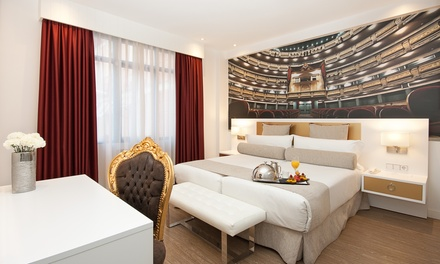 Groupon.it - Madrid: camera doppia/matrimoniale per 2 presso Hotel Mayorazgo 4*