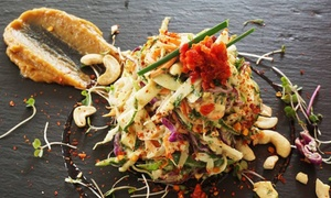 Scheckter's Raw: Meal with a Drink from R65 for One at Scheckter's Raw (Up to 50% Off)