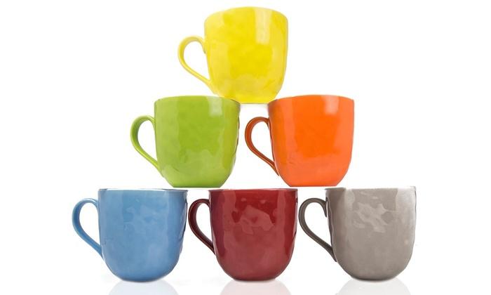 Up To 42% Off on Yedi Bone China Mugs (Set of 6) | Groupon Goods