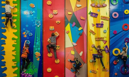 One-Hour Indoor Climbing Session for Up to Four at Fun Climb (Up to 30% Off)