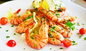 OSTERIA CASCINALE: Menu di pesce con 4 portate e bottiglia di vino all'Osteria Il Cascinale (sconto fino a 65%)