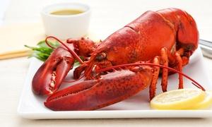 Sint-Pietershoeve: Délicieux menu homard en 4 services pour 2 ou 4 personnes chez Restaurant Sint-Pietershoeve