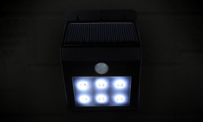 Solar led licht groupon goods for Solar licht