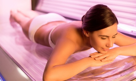 Two or Five Tanning-Bed Sessions or 30-Day Pass at Tan Elegance (Up to 49% Off)