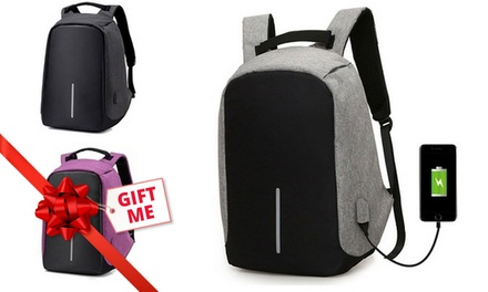 Milano AntiTheft Backpack with USB Charging Port $29.95 with Power Bank $39.95 Don't Pay up to $129.95