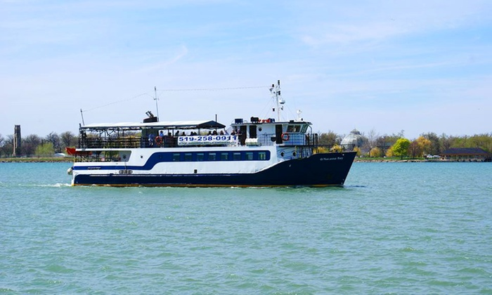 Windsor River Cruises - Windsor River Cruises: Round-Trip Cruise to Amherstburg for Two from Windsor River Cruises on July 15 or August 12 (50% Off)
