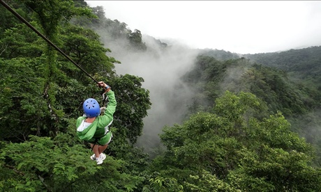 5, 6, 7, or 8-Day Adventure Tour for Two with Value or Deluxe Package from Adrenaline in Costa Rica; Air not Included 2d7c6f26-0af7-4fdb-bb2f-8f50ca802b81