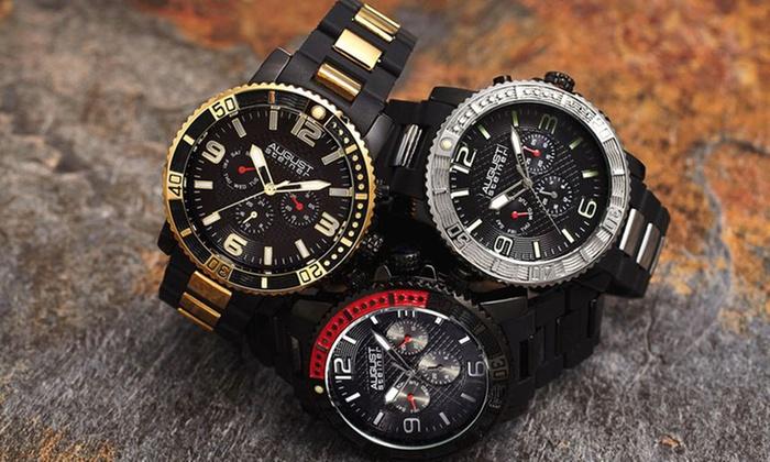ad21565267a40 Men s August Steiner Multi-Function Bracelet Watch