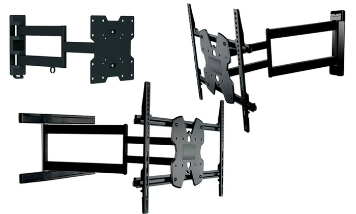 fino full motion tv wall mounts groupon goods. Black Bedroom Furniture Sets. Home Design Ideas