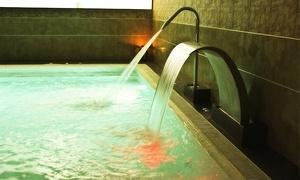 H₂O Spa Balneario Fitness: H₂O Spa Balneario: circuito de 1h para dos por 26,95 € y con masaje desde 42,95 € junto a plaza de España