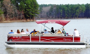 Jordan Lake Tours: $144 for Two-Hour Boat Tour for Up to 10 from Jordan Lake Tours (Up to $335 Value)