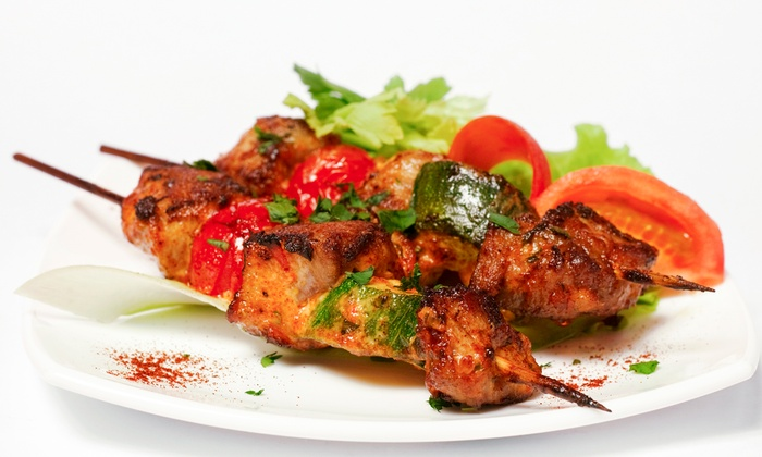 Mina Mediterranean Restaurant - Mount Prospect: Mediterranean Cuisine at Mina Mediterranean Restaurant (Up to 61% Off). Two Options Available.