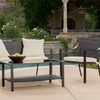 Hot Buy: Jayce Outdoor Brown Wicker Sofa Seating Set (4-Piece)