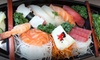 Up to 20% Off Food and Drinks at Kimono Japanese Restaurant