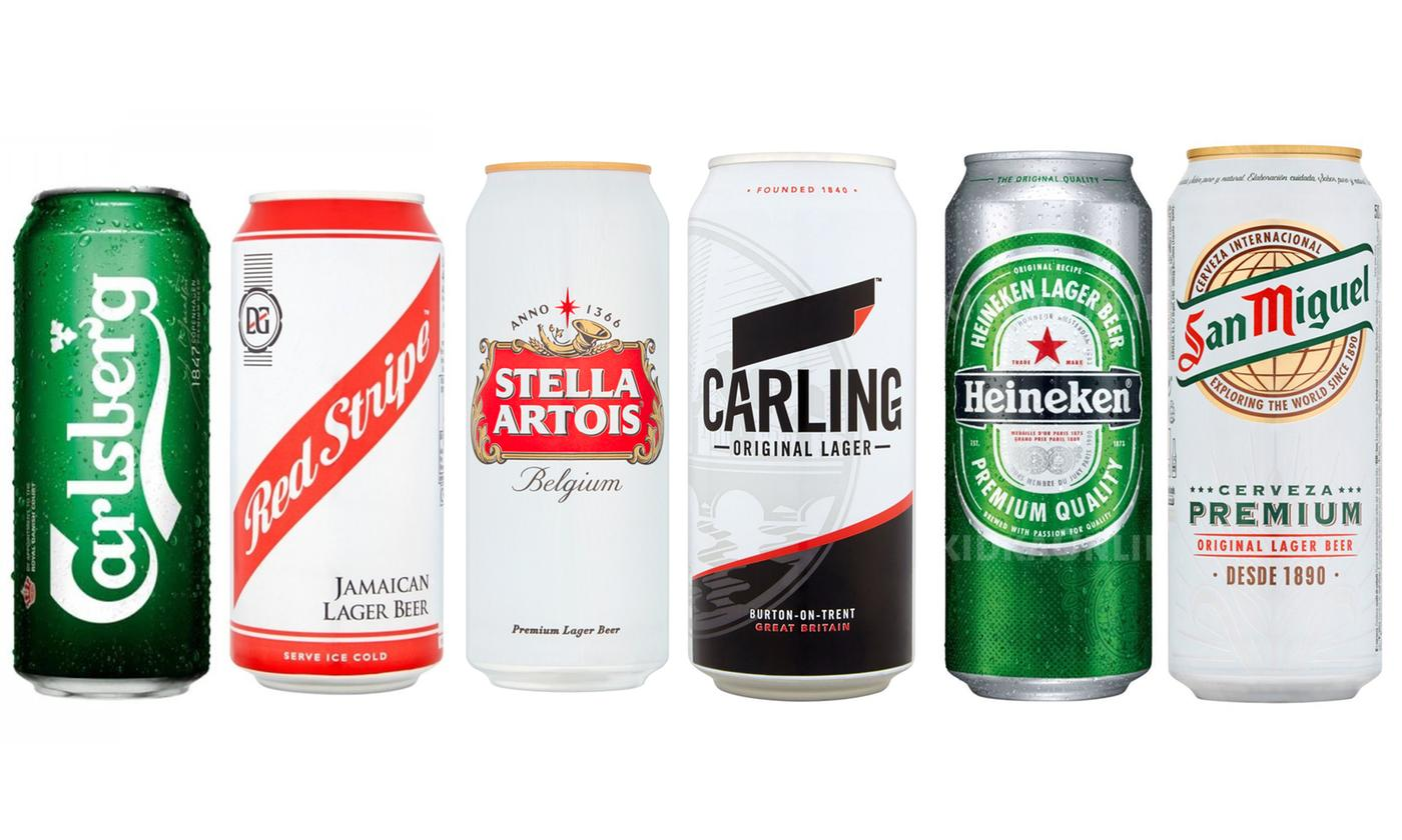 12- or 24-Pack of Assorted Canned Beer Selection With Free Delivery
