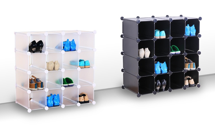 Groupon Goods Global GmbH: Interlocking Storage Cubes from £29.99 With Free Delivery (40% Off)
