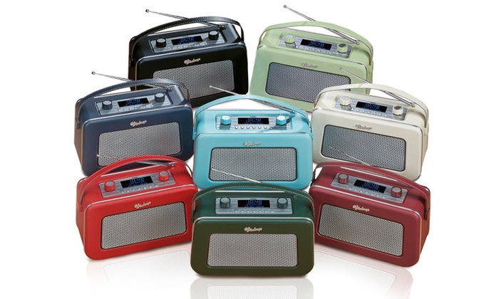 Groupon Goods Global GmbH: Vintage Design DAB/FM Digital Radio for €69.99 With Free Delivery (60% Off)