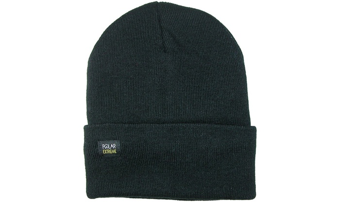 Polar Extreme Thermal-Fleece-Insulated Beanie (2-Pack)