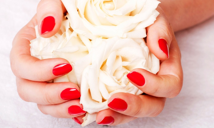 Spoiled Spa and Salon - Orchards Area: $39.99 for a Gel Manicure and Spa Foot Treatment at Spoiled Spa and Salon ($70 Value)