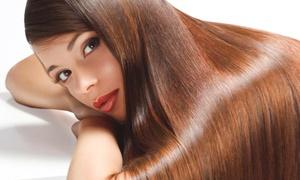 Shainez Coiffure: Lissage brésilien pour cheveux courts, mi-longs, longs ou extra longs dès 59 € chez Shainez Coiffure