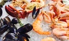 Seafood Night, Child: AED 49, Adult: from AED 99