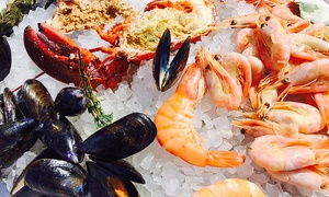 La Veranda at Sheraton Al Khalidiya Hotel: Seafood Night with Drinks or House Beverage for Up to Four at La Veranda at Sheraton Al Khalidiya Hotel (Up to 61% Off)