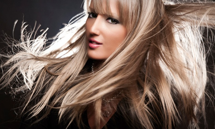 J.Bentley Studio & Spa - Powell: $289 for a Full-Head Human-Hair-Extensions Package at J.Bentley Studio & Spa ($604.50 Value)