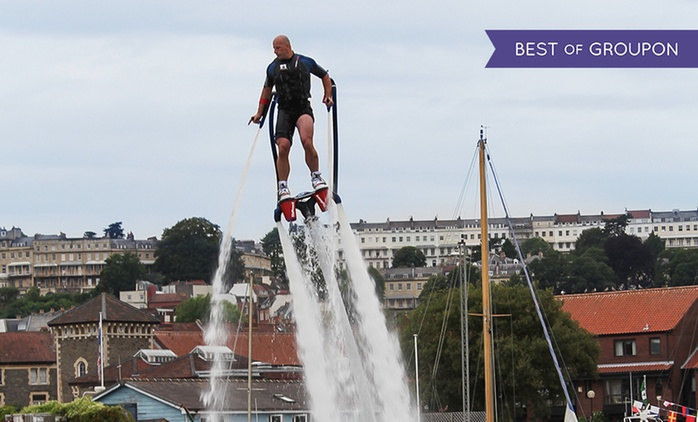 Flyboarding Experience at Big Crazy, Two Locations (Up to 18% Off*)