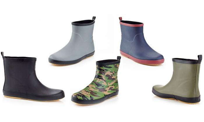 Solo Men's Rain Boots