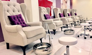 Seleva Beauty Center: Classic or Princess Manicure and Pedicure, or Both at Seleva Beauty Center, Located in JBR (Up to 55% Off)