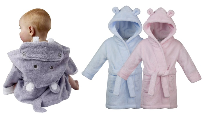 Baby Soft Hooded Robe  dcc1ce24b