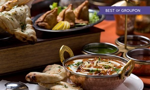 Mister Singhs India: Indian Tapas Lunch For Two for £11 at Mister Singh's India (69% Off)