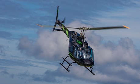 Experience: Six-Mile Helicopter Buzz Flight For just: £39.0
