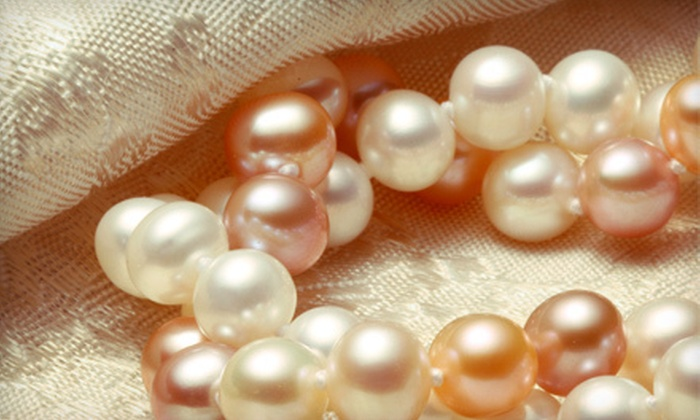 Black Lotus Designs: Pearl Jewelry from Black Lotus Designs (Up to 60% Off). Two Options Available.