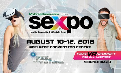 SEXPO: One-Day Entry for $18.50, 10-12 August, Adelaide Convention Centre (Don't Pay $28*)