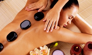 One or Three 60-Minute Hot Stone, Swedish Oil, or Deep Tissue Massages at Happy Day Spa (Up to 35%  Off)