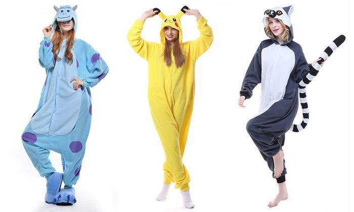Fino a su pigiama animali cartoni animati groupon