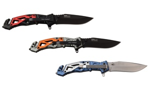 Tac-Force Assisted Opening Stainless Steel Truss Rescue Knife