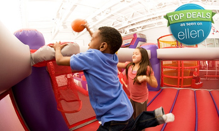 BounceU - Gilbert Town Square: 5 or 10 Open-Bounce Visits to BounceU in Gilbert (Up to 60% Off)
