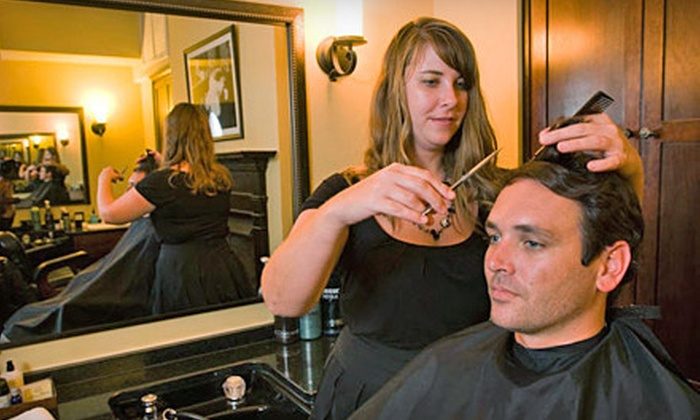 Old South Barber Spa - French Quarter: $30 for a Gentleman's Signature Haircut and Scalp Massage at Old South Barber Spa (Up to $60 Value)