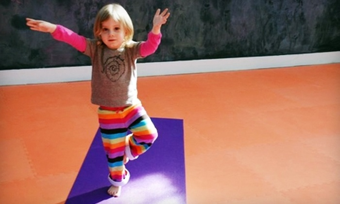 Om Kids Yoga Center - Pawtucket: $35 for Five Classes at Om Kids Yoga Center in Pawtucket ($75 Value)